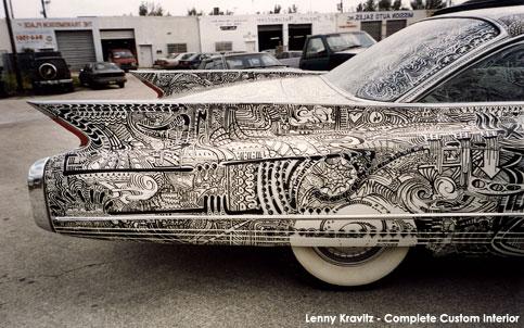 Lenny Kravitz Complete Custom Auto Interior Img